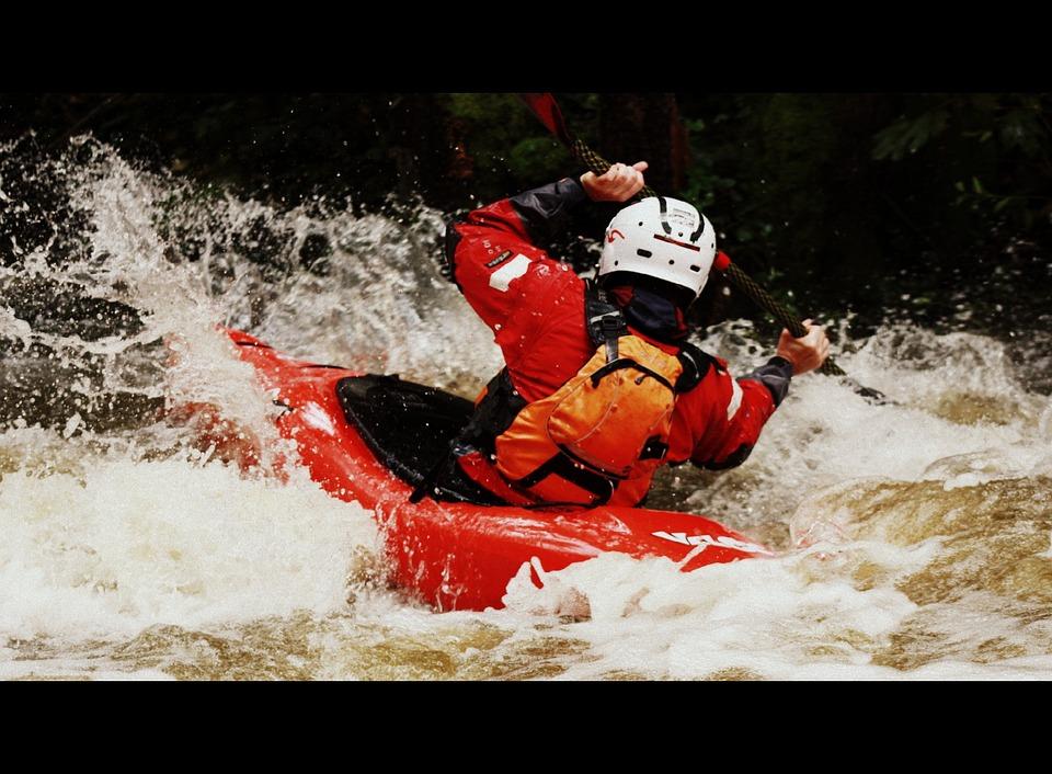 Kayak, Water, Paddle, White Water, Wild Water