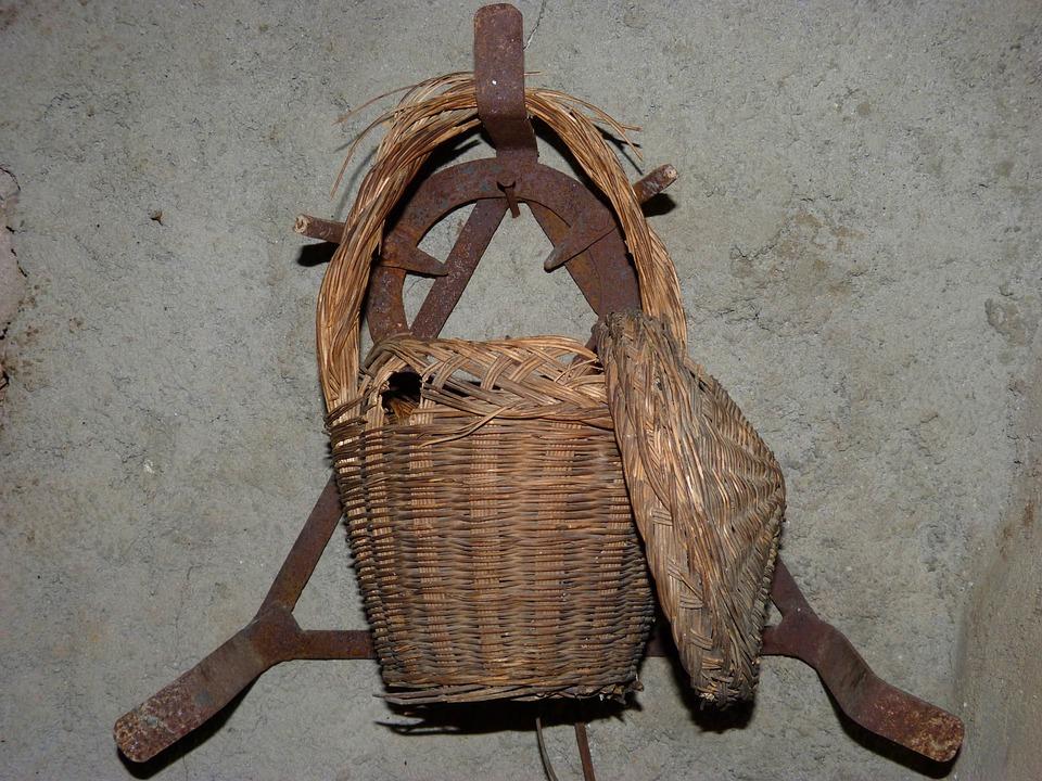 Famous, Wicker, Basket, Rural