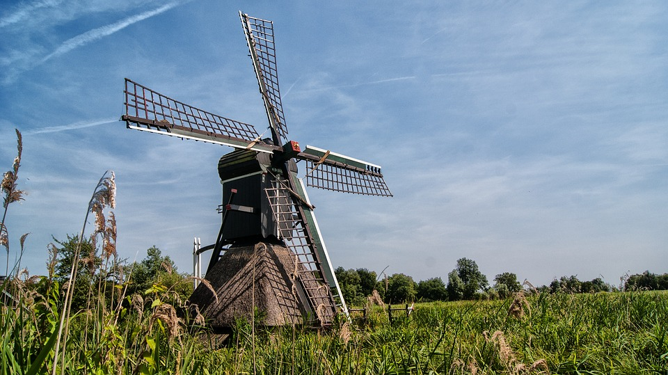 Mill, Wicks, Wind Mill, Historic Building, Dutch Mill
