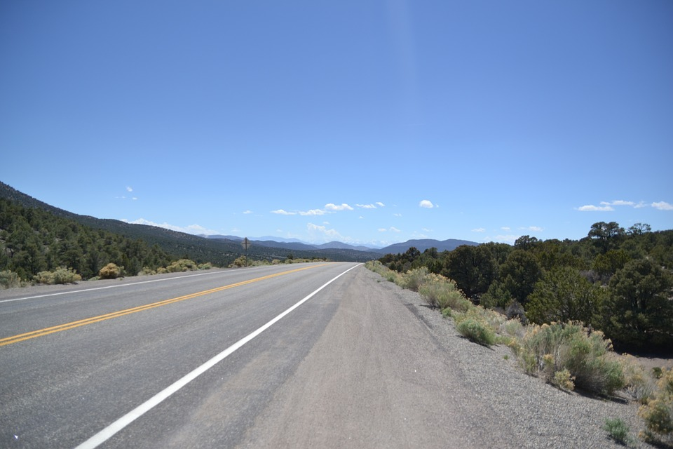 Road, Lonely, Usa, Wide, View, Nature, Sky, Landscape