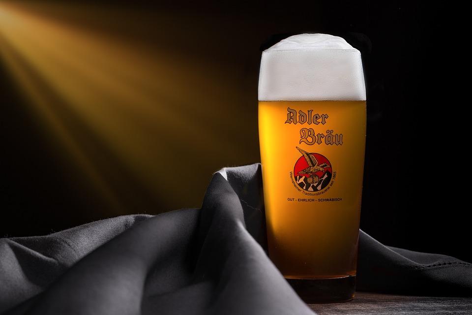 Beer, Foam, Brewery, Brauer, Wiernsheim, Adler Bräu