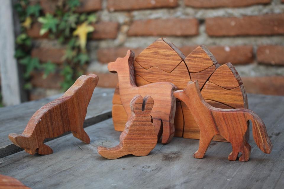 Fauna, Animal, Wood, Toy, Nature, Wild, Cartoon, Zoo