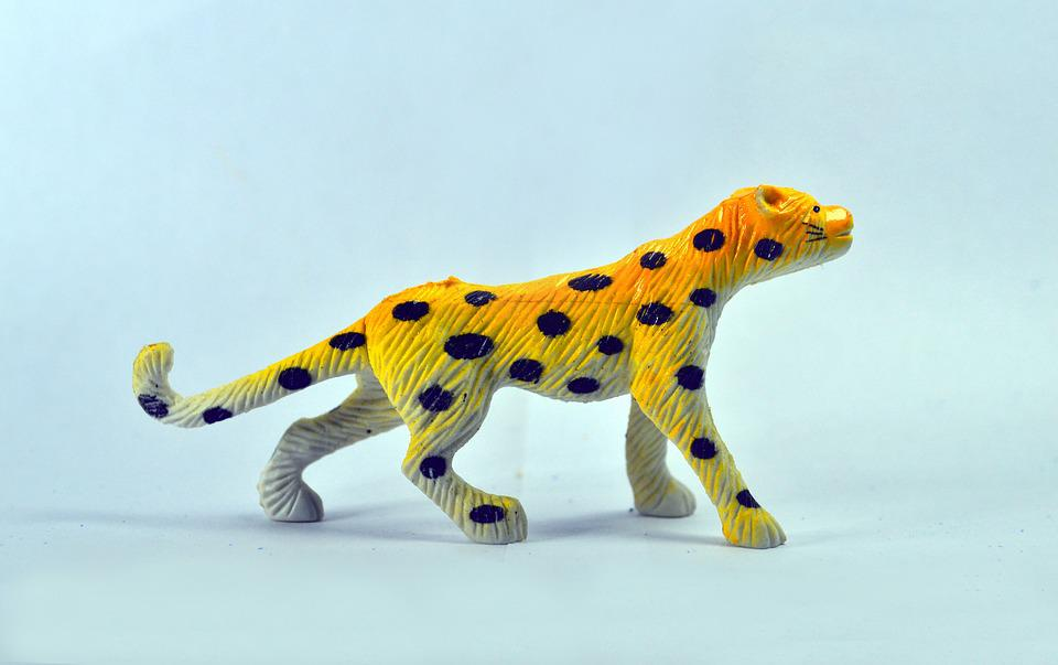 Cheetah, Walk, Toy, Icon, Fauna, Wild, Yellow, One