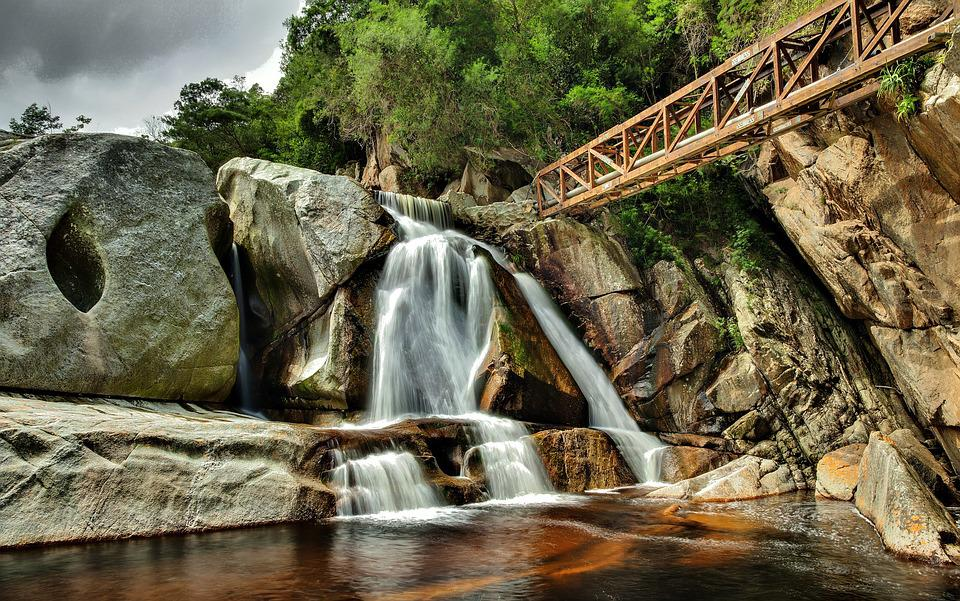 South Africa, Wildeness, Waterfall, Falls, Orange Water