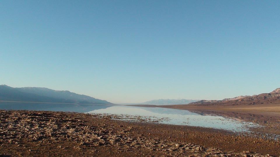 Death Valley, Salt Lake, Nevada, Landscape, Wilderness