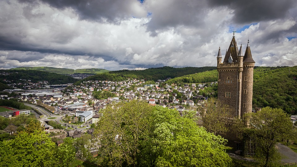 Dillenburg, City, Castle, Wilhelm Storm