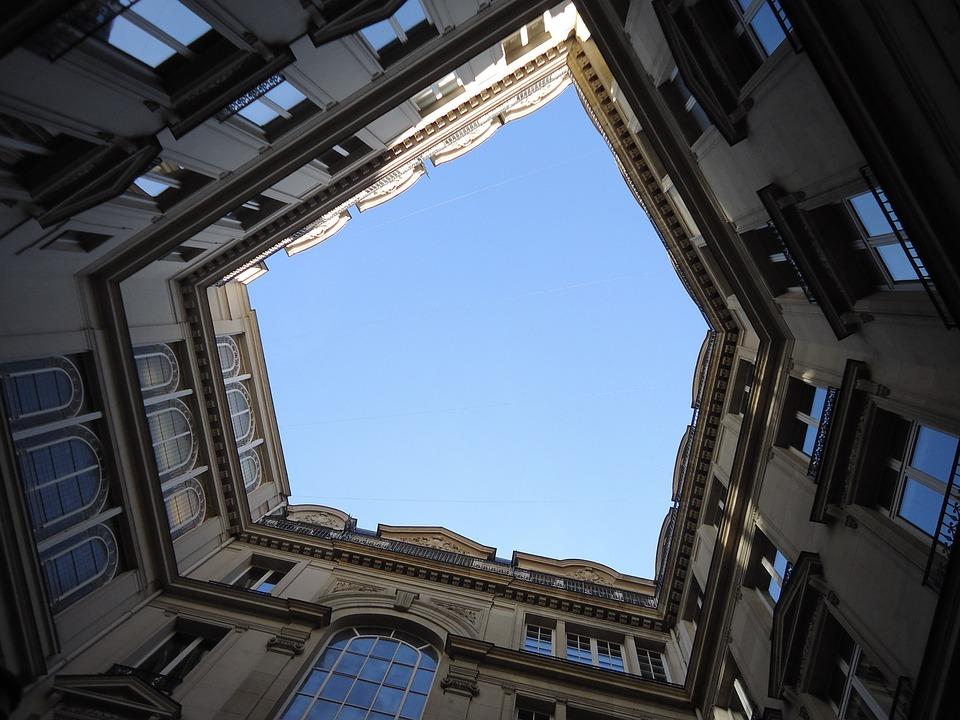 Sky, Blue Sky, Building, Will, Windows