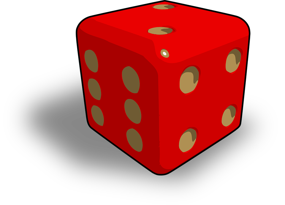 Dice, 2, 6, 4, Game, Gambling, Chance, Luck, Risk, Win