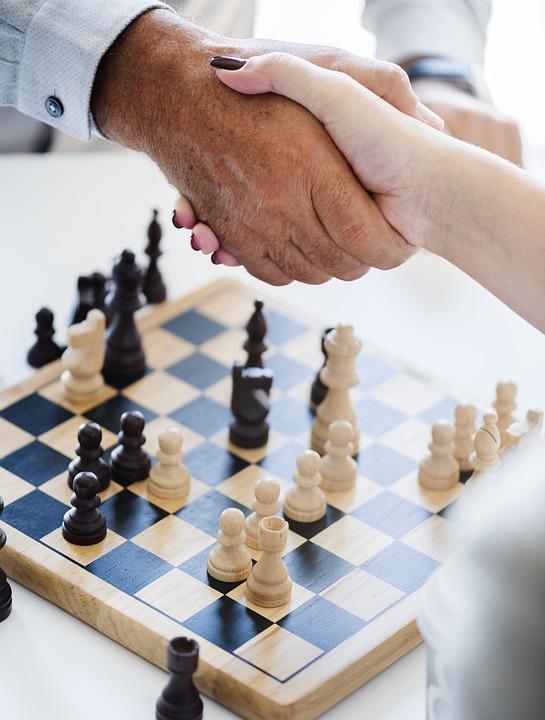 Chess, Gameplan, Pawn, Win, Game, Agreement, America