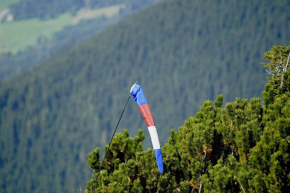 Wind Sock, Wind Vane, Wind Direction, Wind, Anemometer