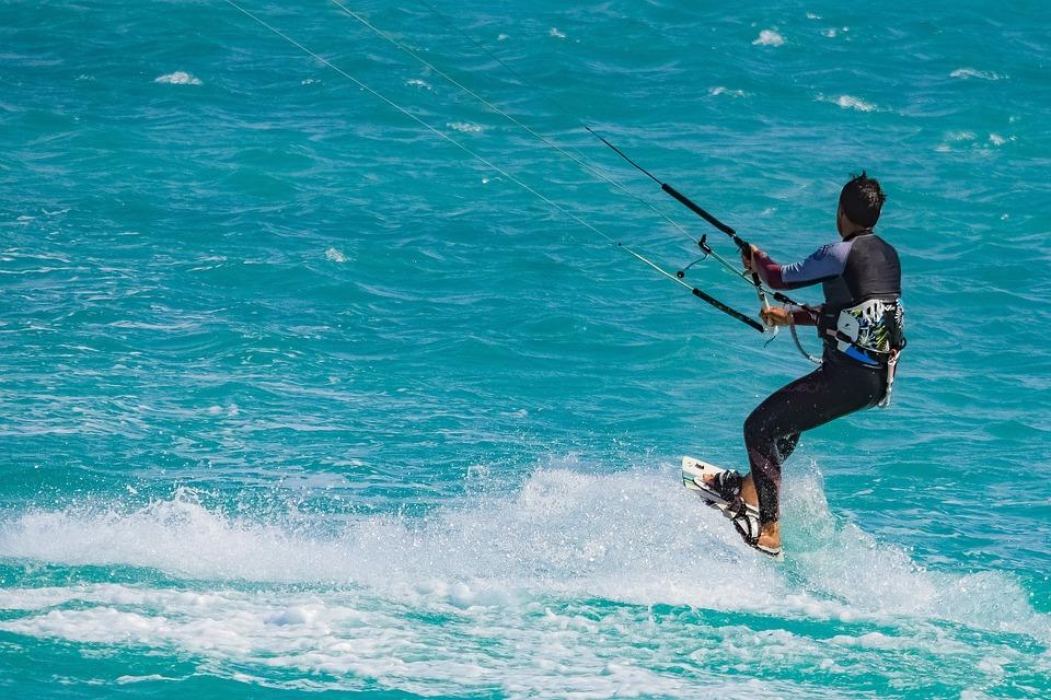 Kite Surf, Surfer, Surfing, Sport, Extreme, Wind