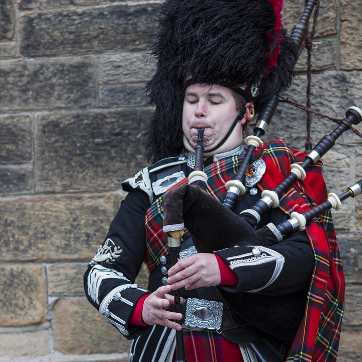 Scotland, Bagpipes, Kilt, Wind Instrument