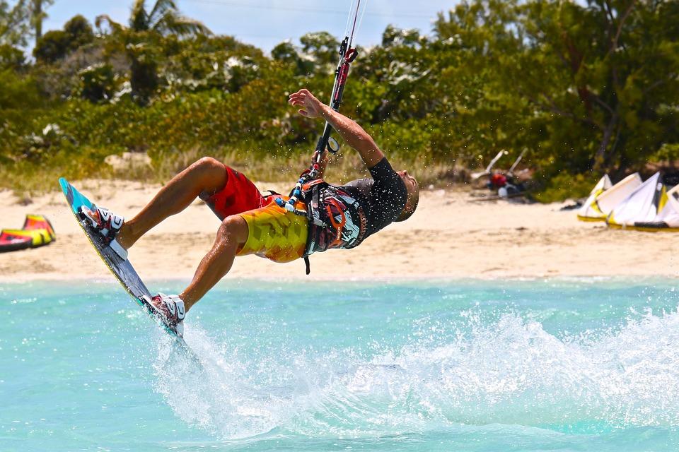 Kitesurfing, Kiteboarding, Kite, Sport, Wind, Sea, Surf