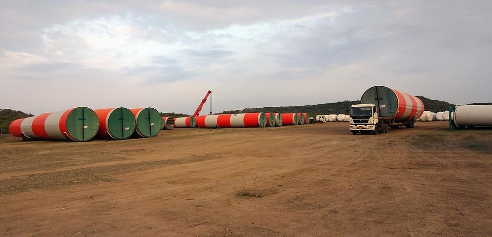 Wind Mill, Turbine, Rolling Stock, Technology, Clean