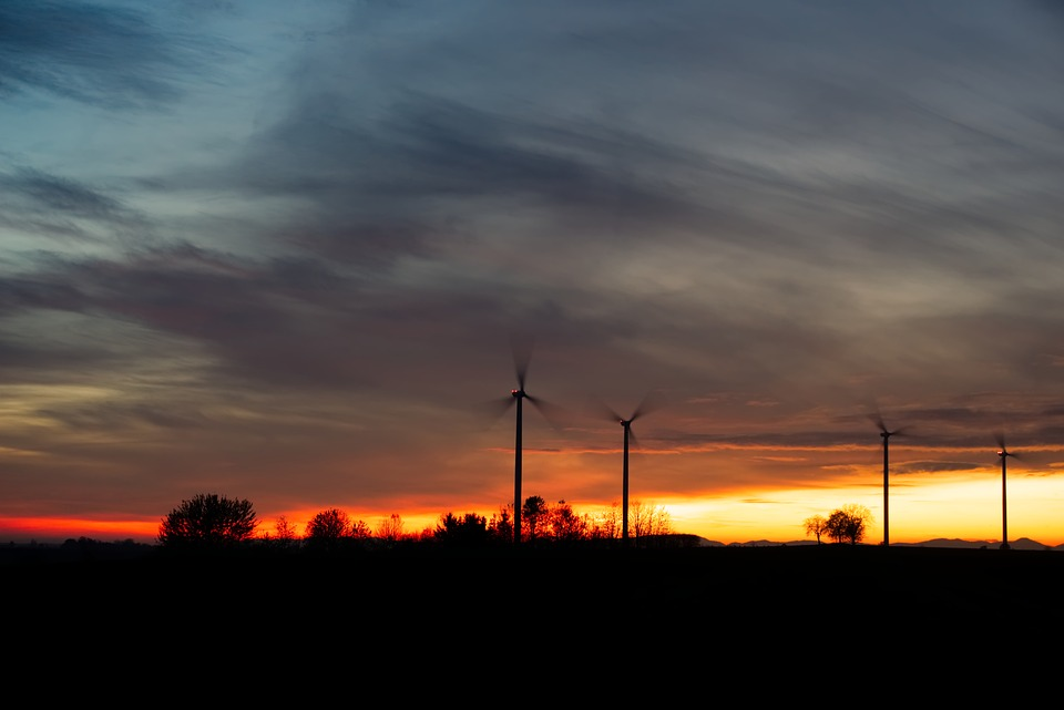 Windräder, Wind Power, Energy, Environmental Technology
