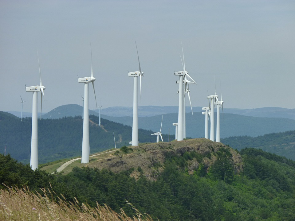 Wind Power, Pinwheel, Energy, Environmental Technology
