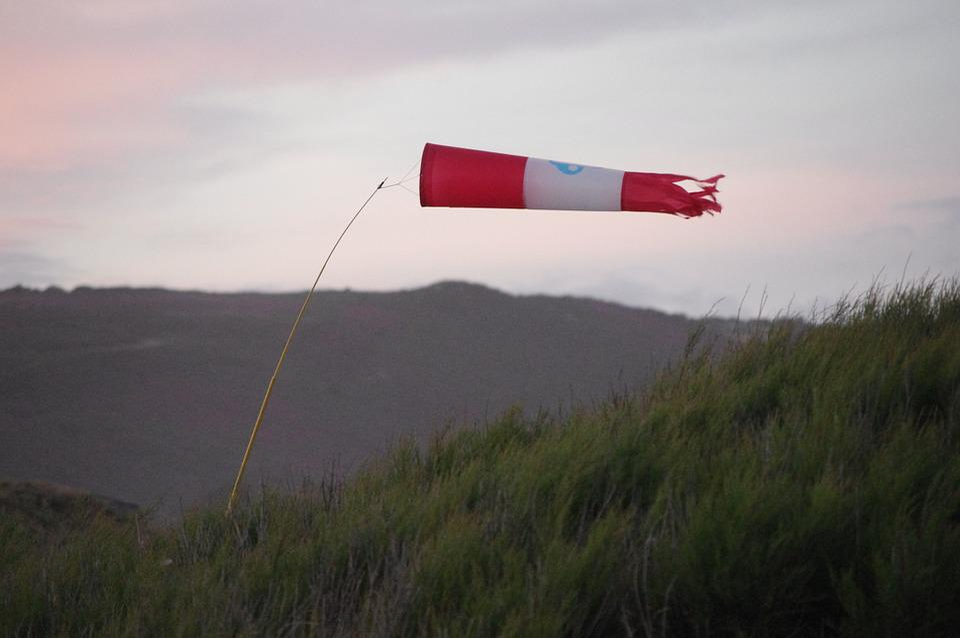 Wind, Sea, Windsock
