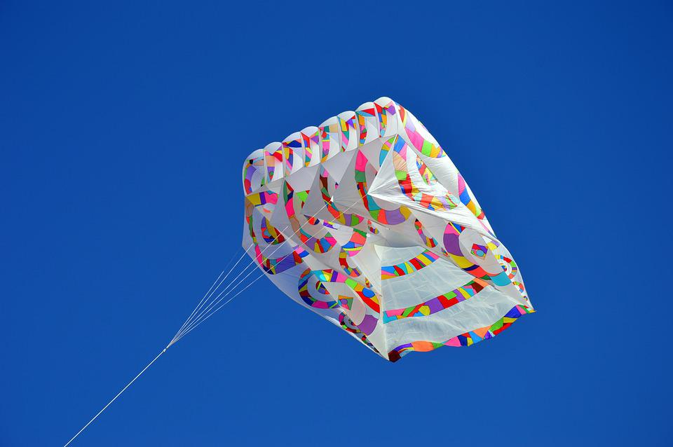 Kite, Wind, Sky, Color