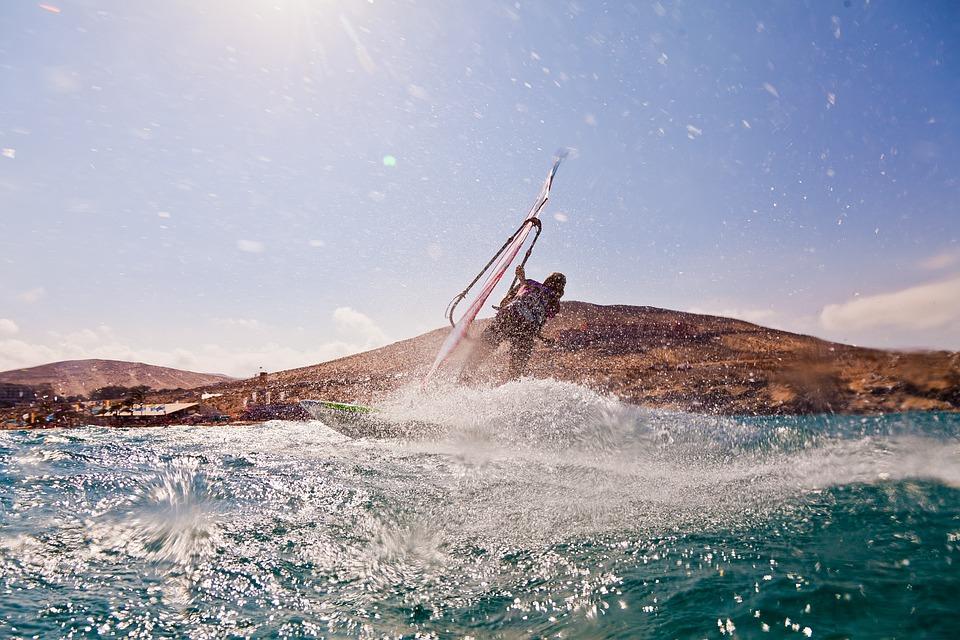 Wind, Wind Surfing, Vacations, Sport, Surfer
