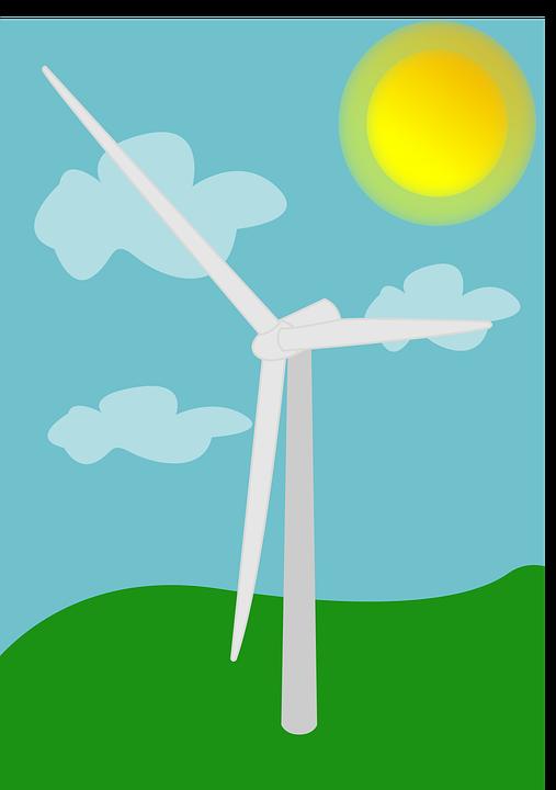 Turbine, Wind Turbine, Landscape, Wind, Air, Air Force