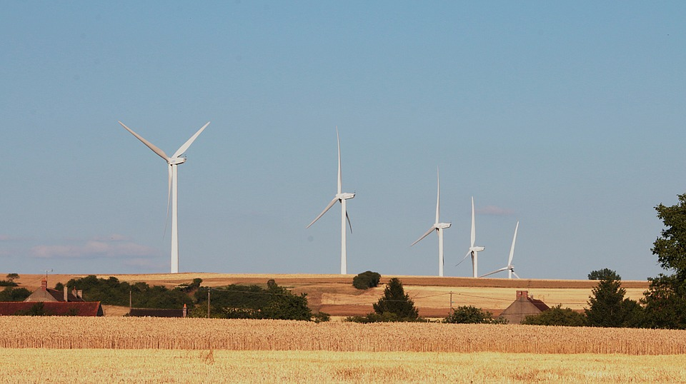 Wind Turbines, Electricity, Energy, Voltage, Electric