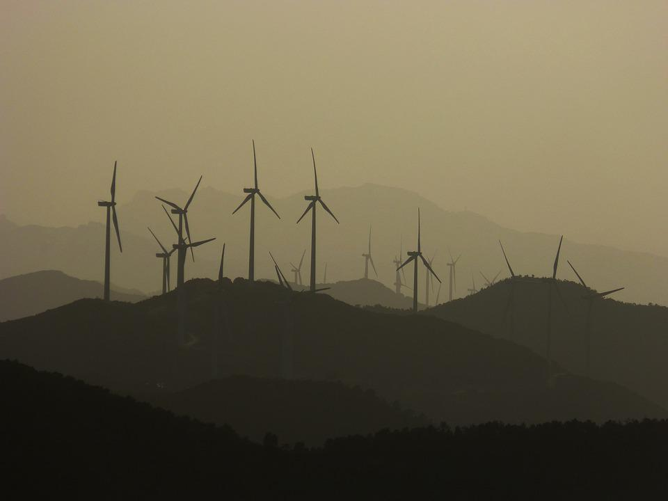 Wind Turbines, Ecology, Mills, Mountains, Windmills