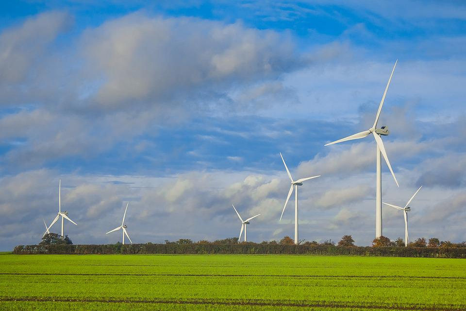 Wind Turbines, Norfolk, Power, England