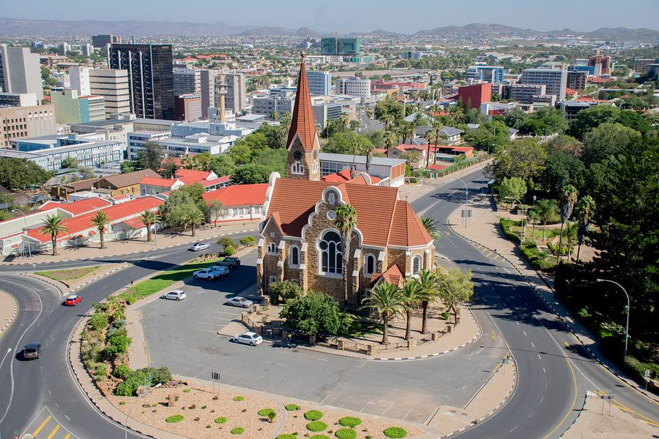 Church, Namibia, Windhoek, Architecture, Building