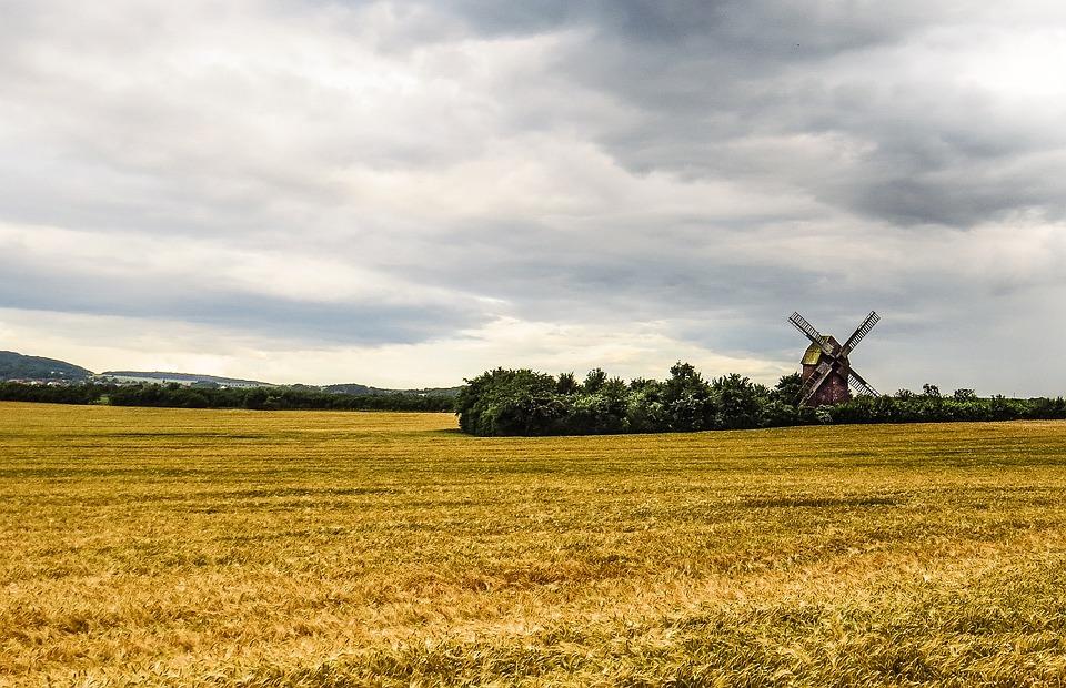 Windmill, Old, Antique, Nostalgia, Mill, Windräder