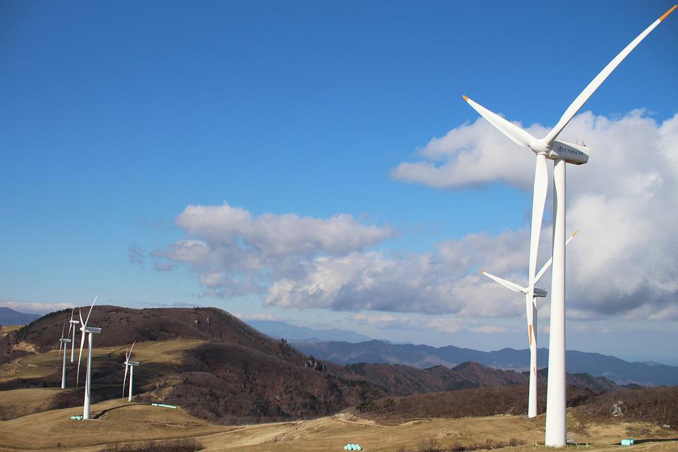 Daegwallyeong Ranch, Windmill, Wind