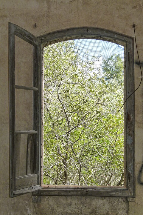 Window, Wood, House, Old, Wall, Abandoned, Ruin
