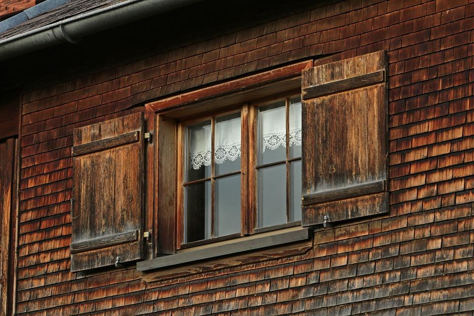 Farmhouse, Egg, Austria, Alpine, Window, Hauswand, Wood