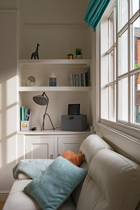 Beautiful, Interior, Window, Living Room, Attractive