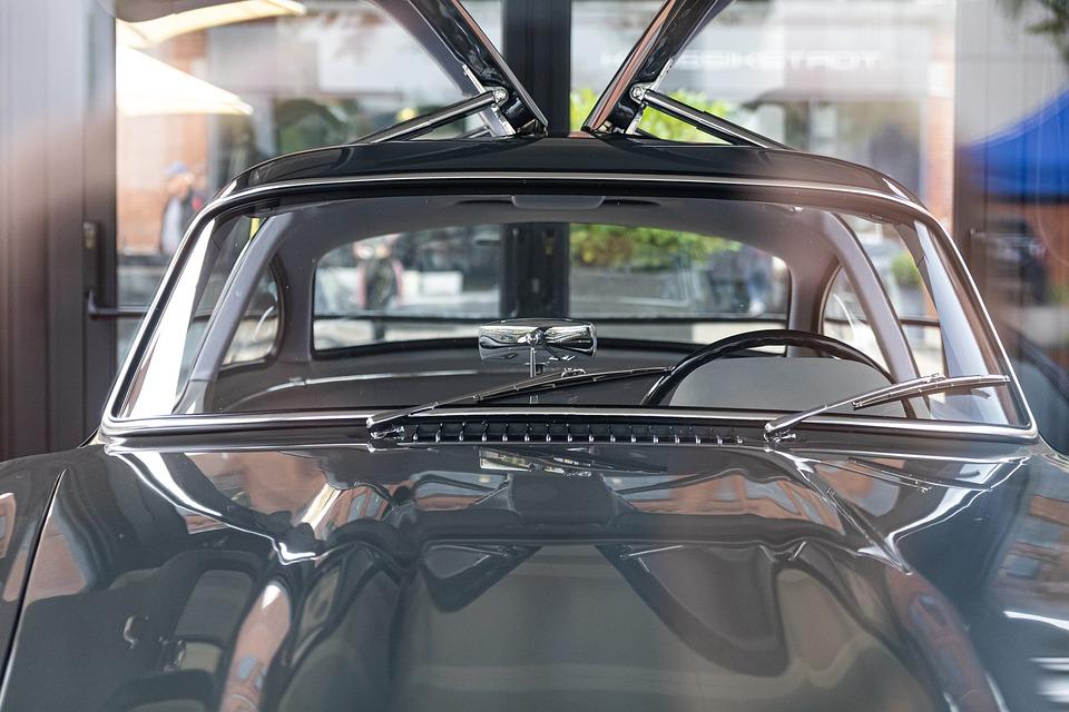 Car, Vehicle, Mirror, Building, Windshield, Window
