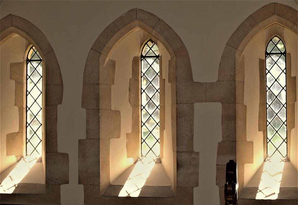 Architecture, Window, Church, Inside, Arch