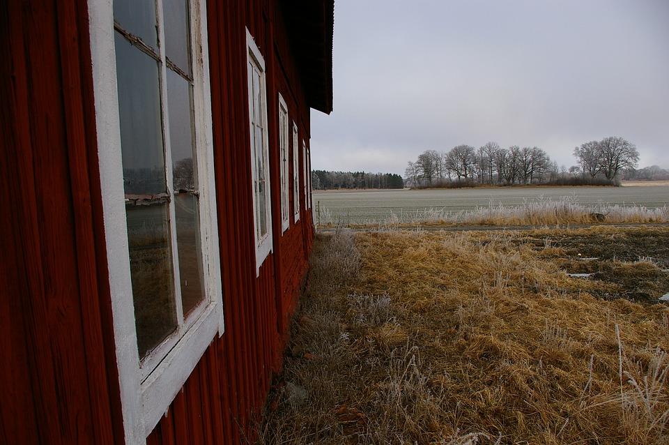 Country, Barn, House, Go, Window