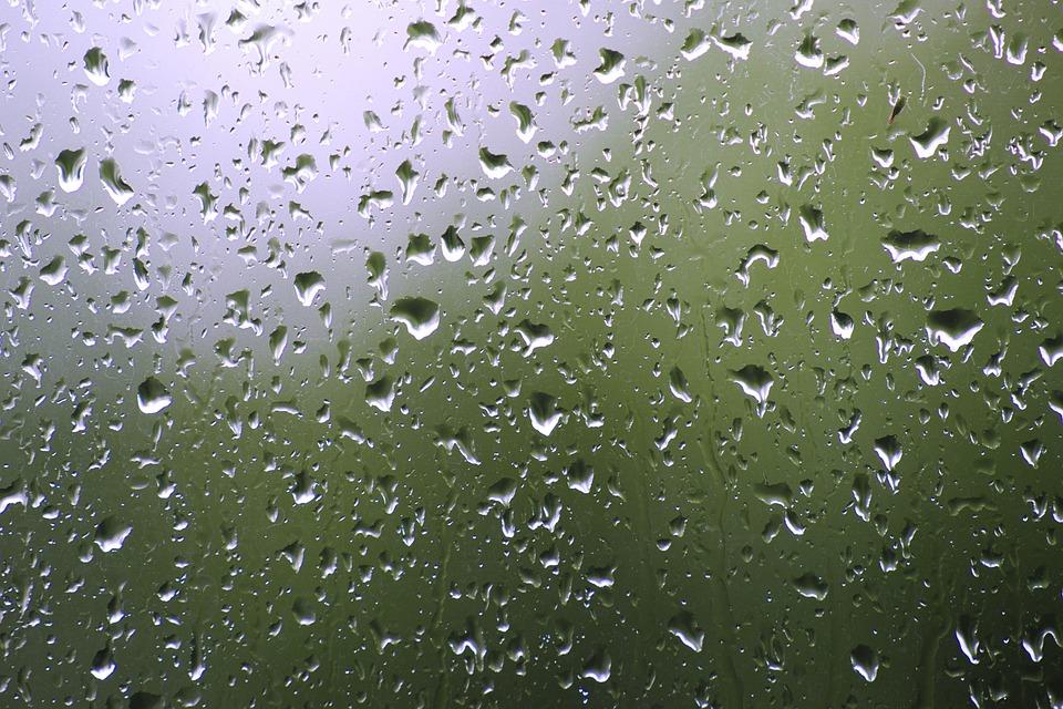 Rain, Glass, Drip, Raindrop, Wet, Window, Water