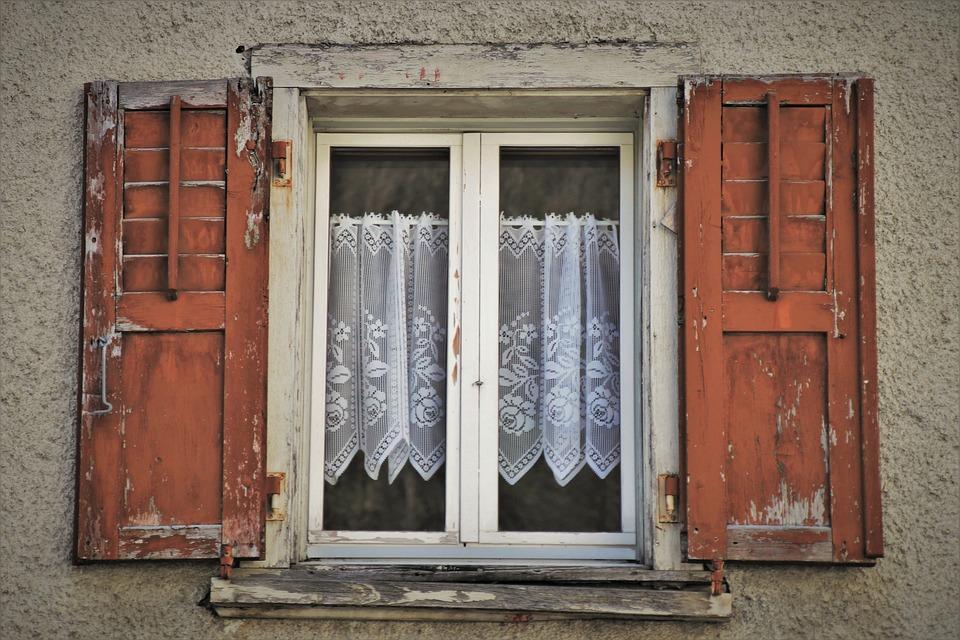 Destroyed, Old, Window, Patient, Extinct, Plaster
