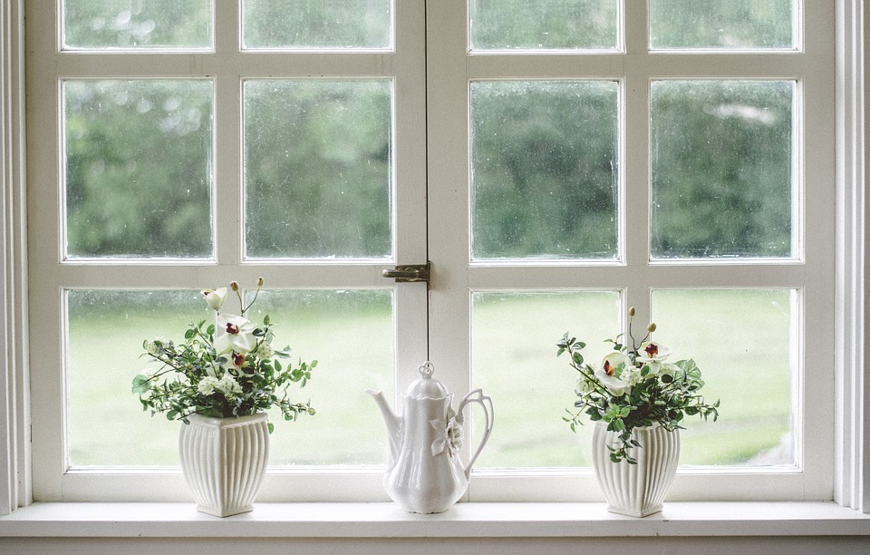 Free Photo Window Flower Frame White Shield Vase Glass Max Pixel