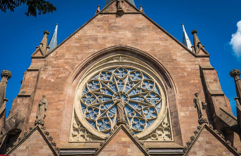 Church, Window, Gothic, Dom, Historically