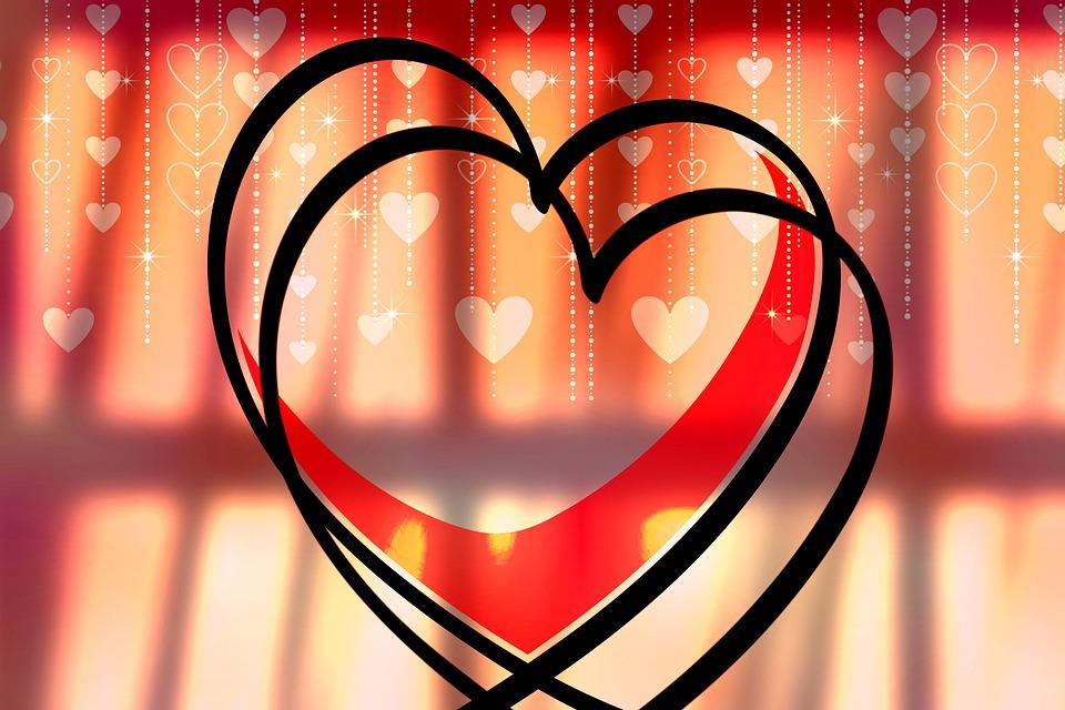 Heart, Love, Romance, Shadow, Valentine's Day, Window