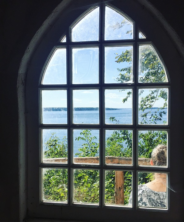 Window, View, Landscape, Holiday, Sky, Natural, Summer