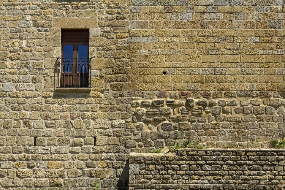 Wall, Window, Texture, Background, Architecture, House