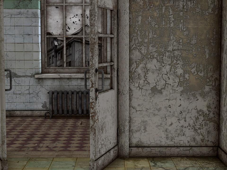 Room, Old, Atmosphere, Window, Leave, Decay, Ruin