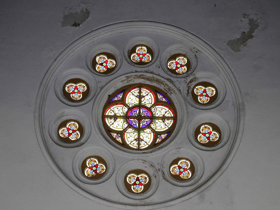 No One, Inside, The Art Of, Religion, Round, Window