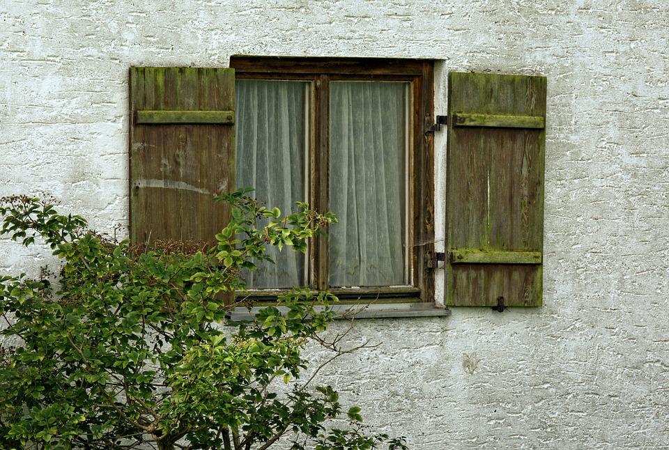 Wooden Windows, Window, Old, Break Up, Shutter, Facade