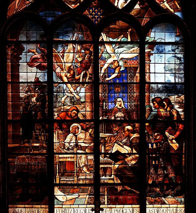 Paris, Church, House Of Worship, Window, Mosaic