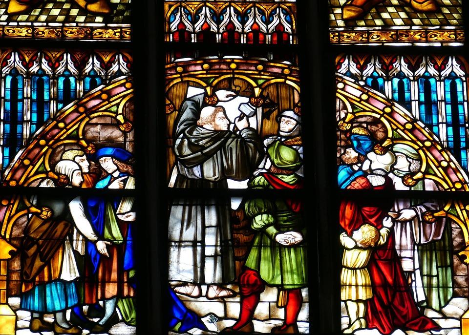 Window, Church Window, Religion, Stained Glass