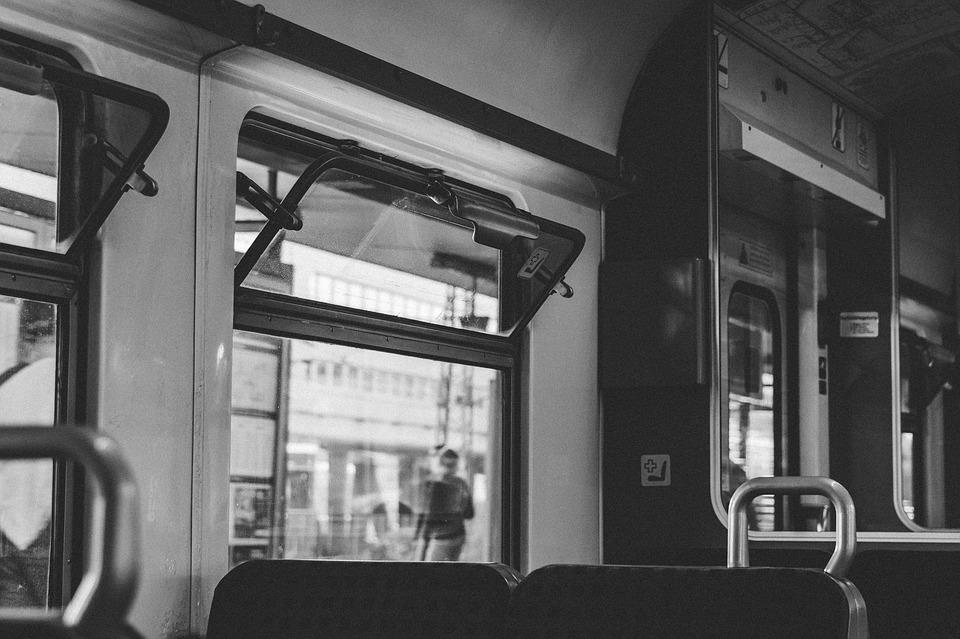 Train, Window, B W, Transportation, Traffic, Seats
