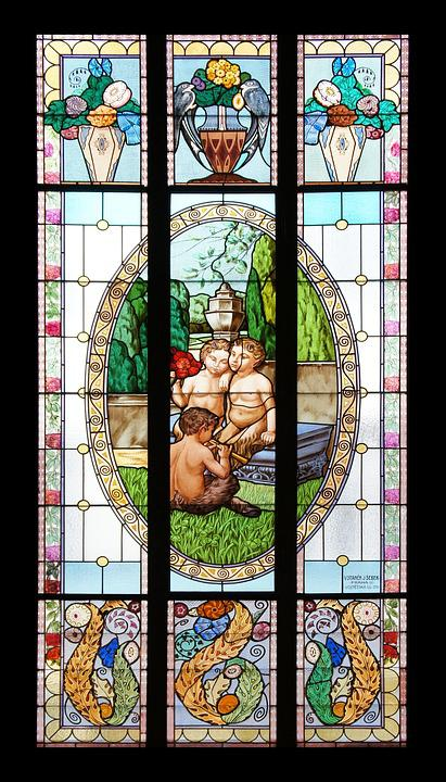 Window, Stained-glass Windows, Glass, Color, Mosaic